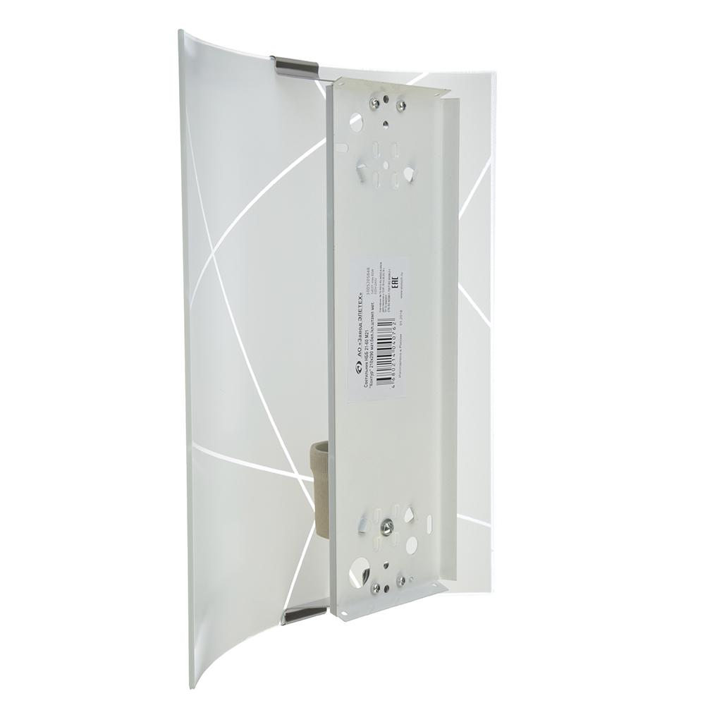 Светильник Контур 210х290 мм, 60Вт, Е27, стекло, металл