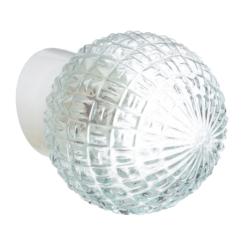 Светильник Гранат, 150 мм, 60Вт, Е27, наклонный, стекло