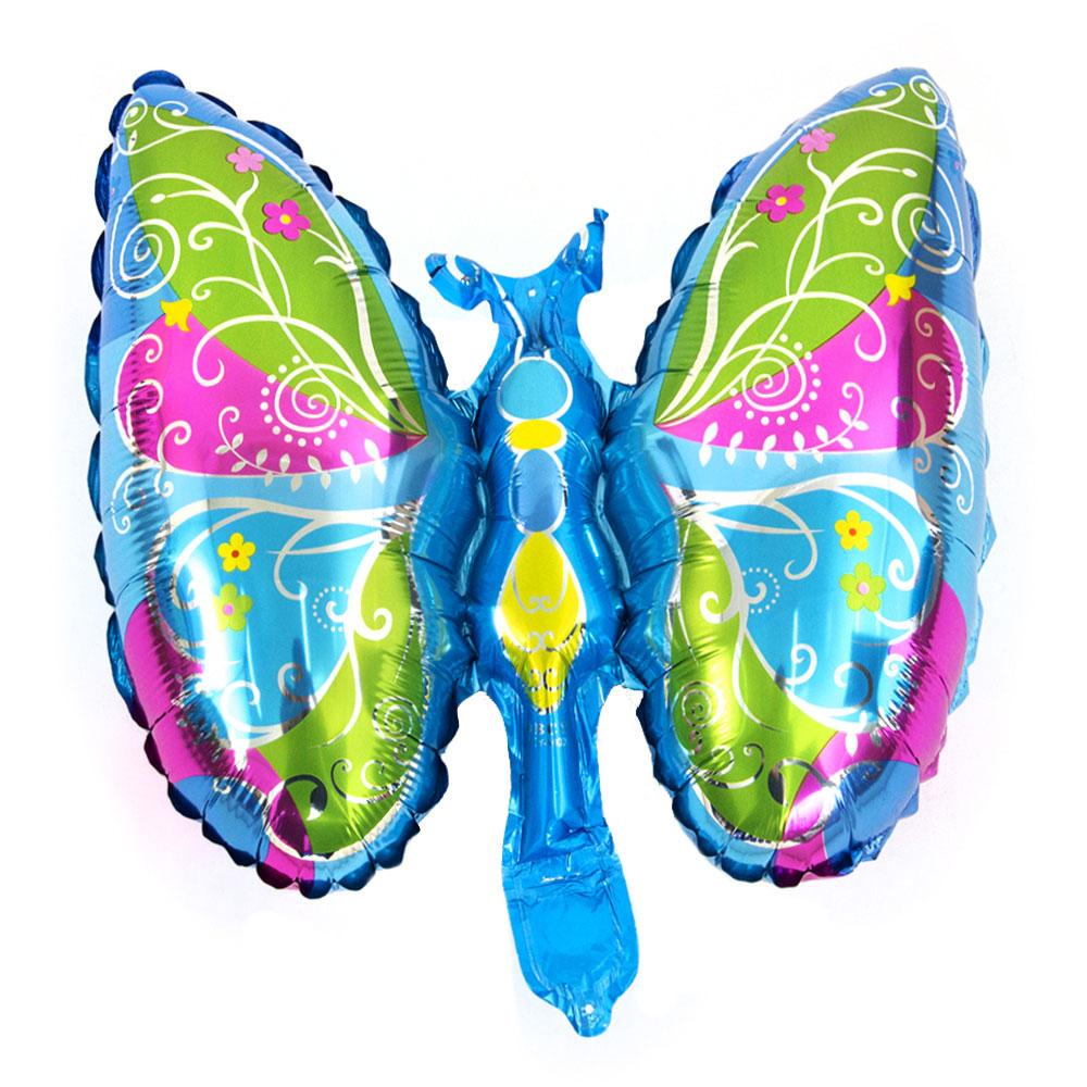 Шар фольгированный в виде бабочки, 30х40 см, арт 05