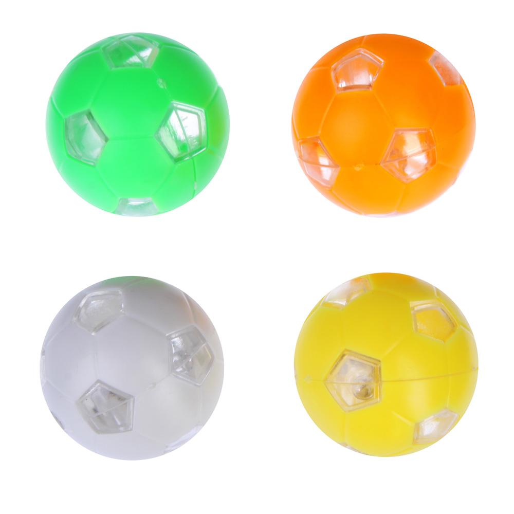 Брелок для поиска ключей, в виде мяча, световой, пластик, 3-4см