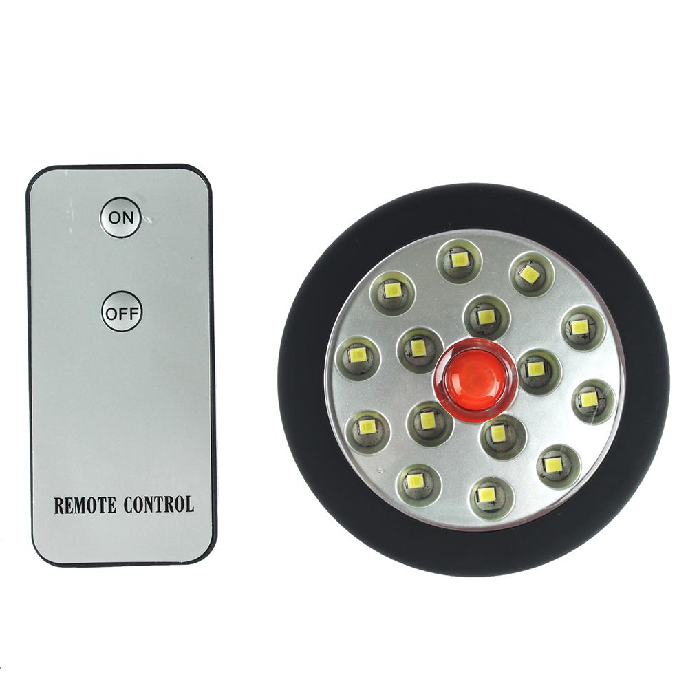 Светильник подвесной с пультом, 15 LED, 3Вт, 3*АА, 8х8х3см, пластик