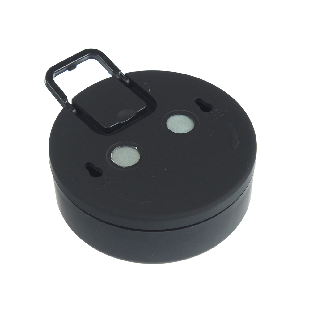 ЧИНГИСХАН Светильник подвесной с пультом, 15 LED, 3Вт, 3*АА, 8х8х3см, пластик