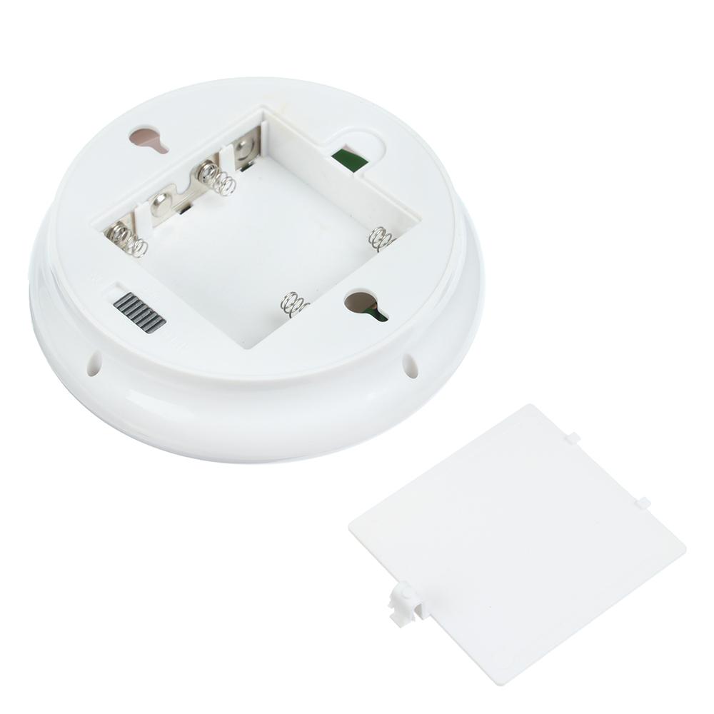 Светильник с датчиком движения, 6 LED, 1Вт, 4*АА, 12х12х5см, пластик