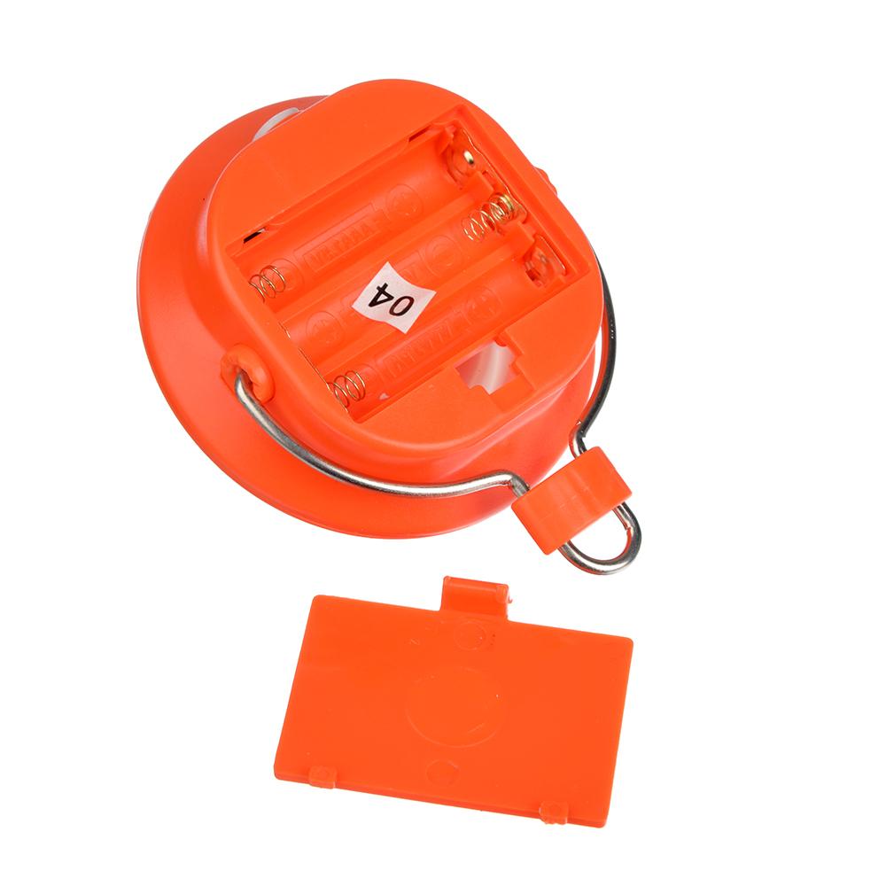 ЧИНГИСХАН Светильник подвесной, 1 COB, 1Вт, 3xАAA, d8см, пластик, 2 режима