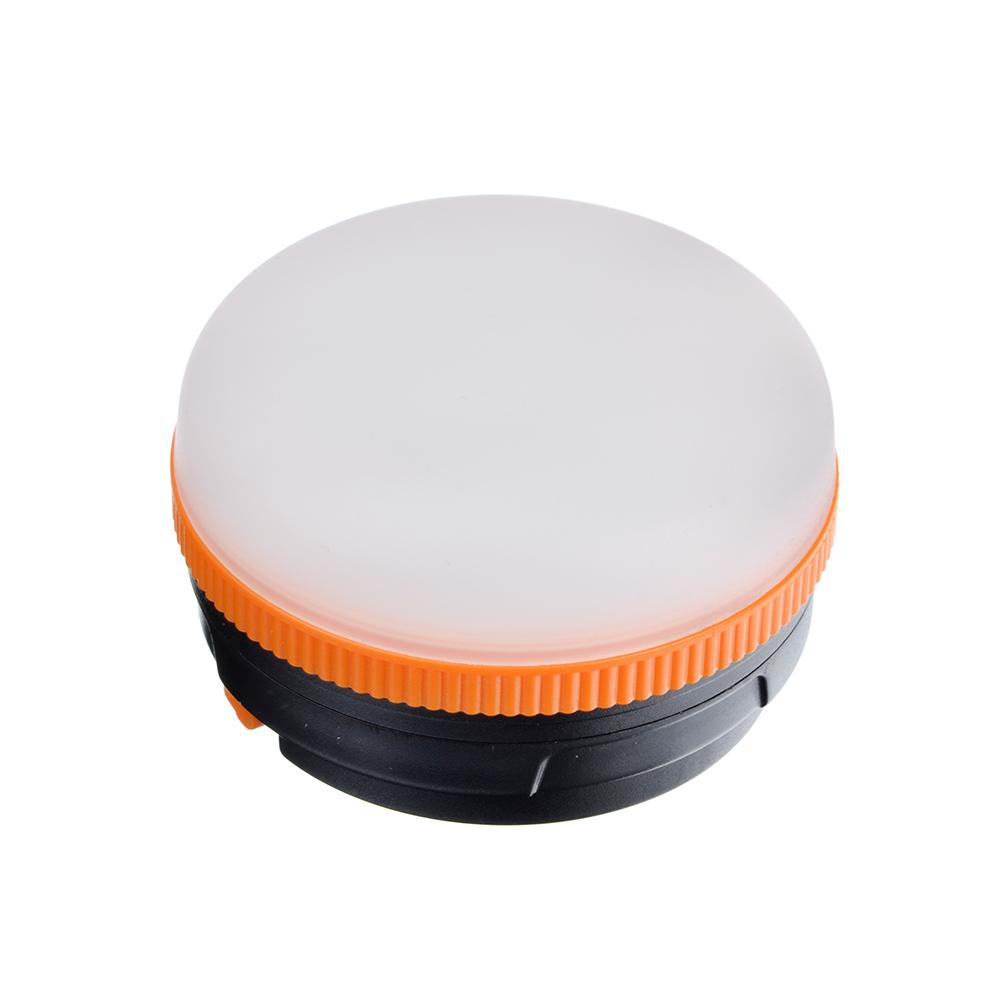 ЧИНГИСХАН Светильник подвесной, 6 LED, 5Вт, 3xАAA, d6.5см, пластик, 3 режима