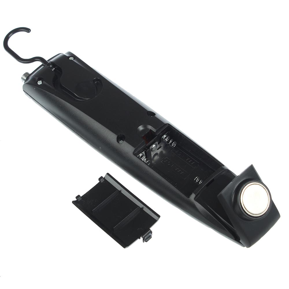 ЧИНГИСХАН Фонарик, 1 COB 5Вт, 2 LED, 3xАAА, 30см, 2 режима