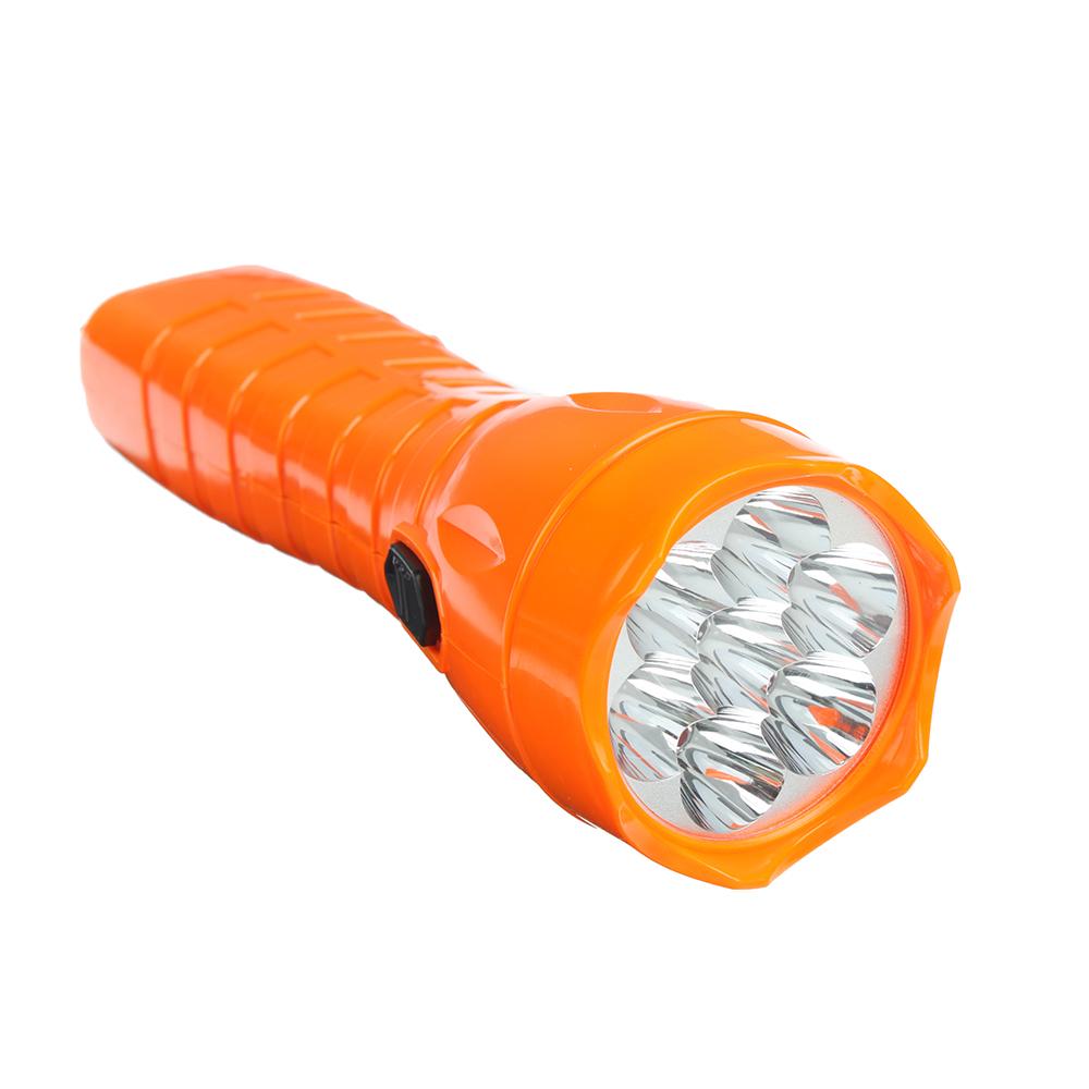 ЧИНГИСХАН Фонарь, 7 LED, 3Вт, аккумулятор 450мАч, 20см, пластик