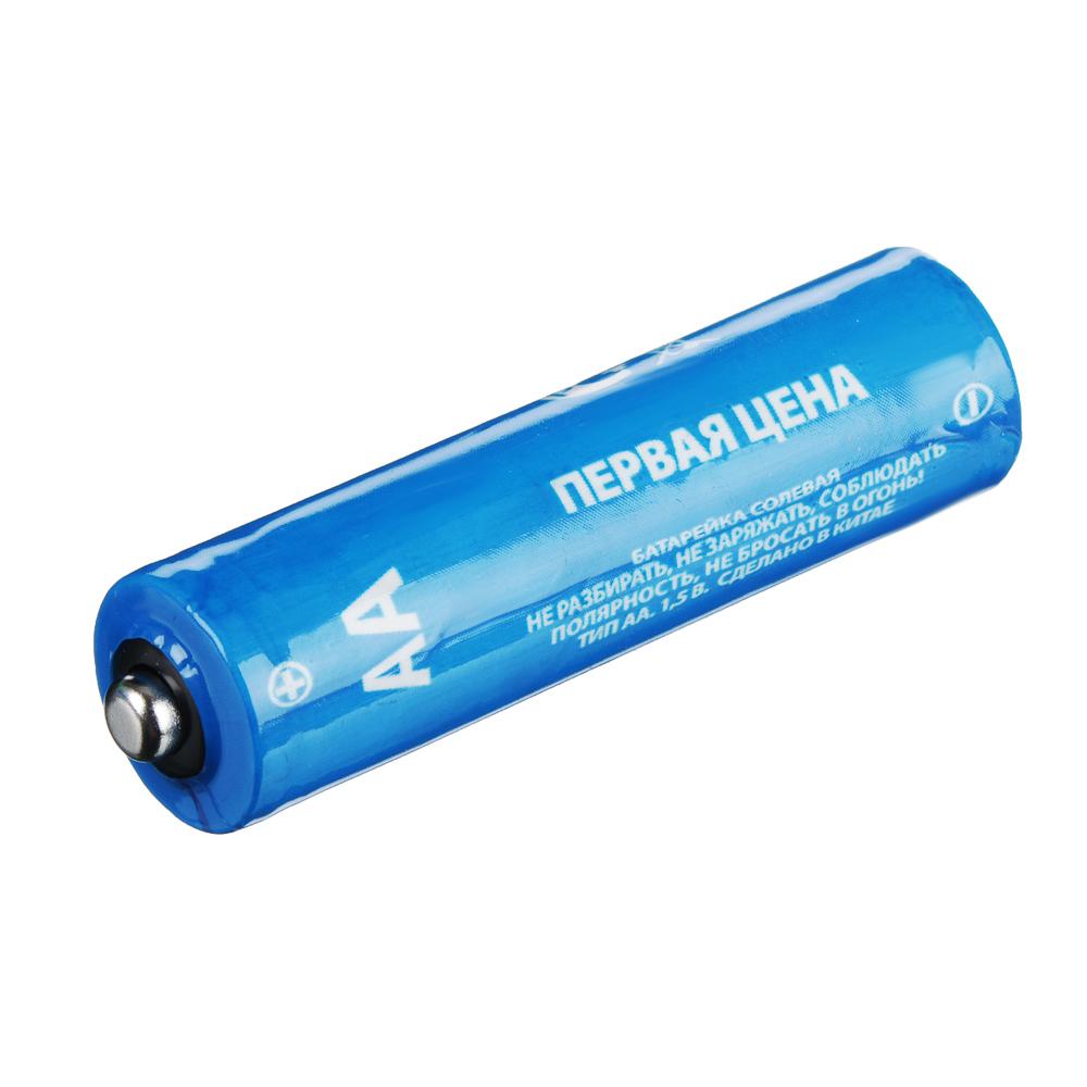 "Батарейки, 4 шт, солевые, тип АА (R6), плёнка, Убойная цена ""Super heavy duty"""