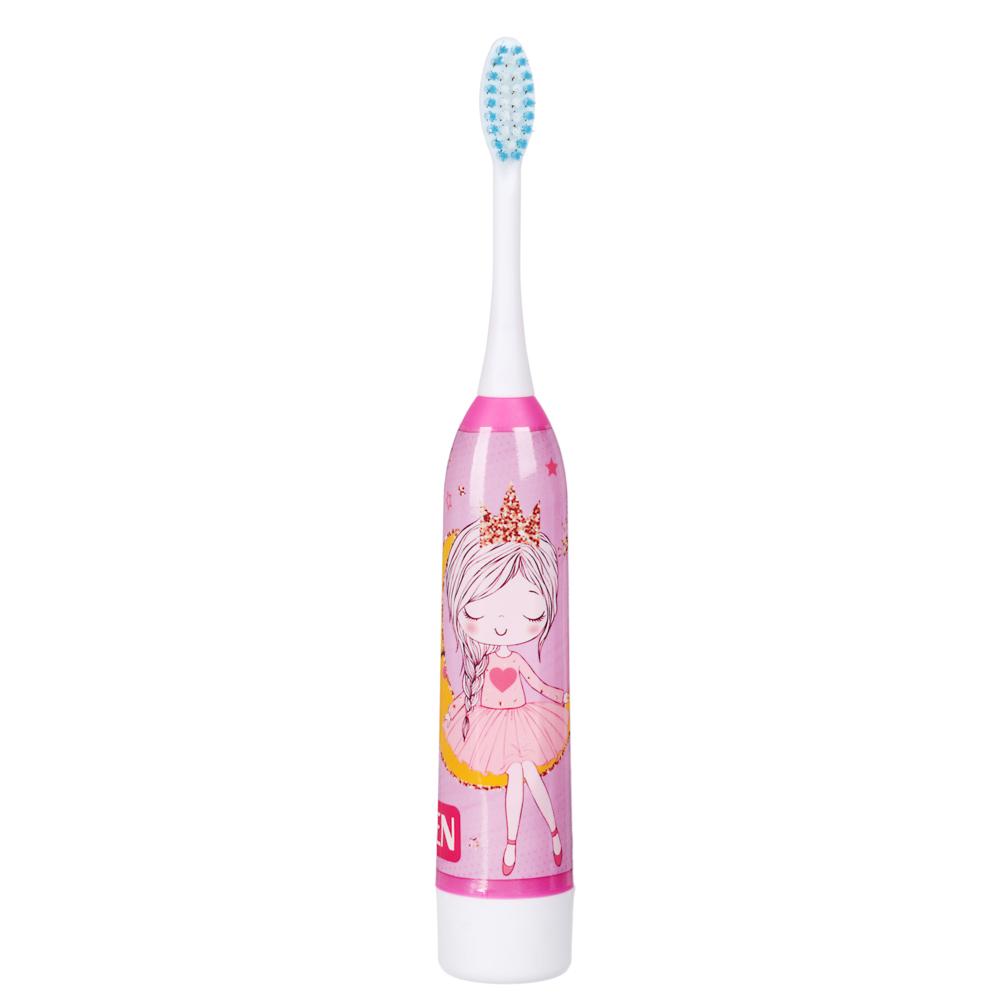 Зубная щетка электрическая детская FORZA, 1АА, 2 цвета