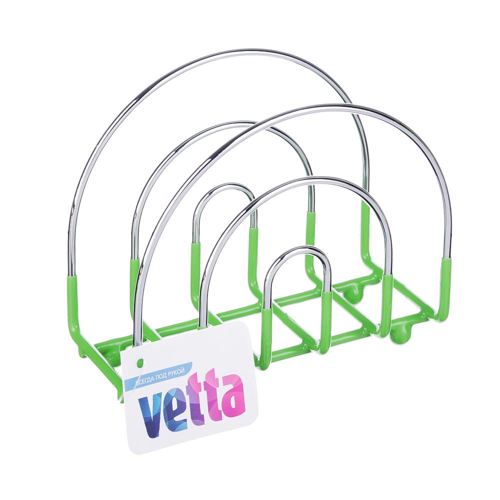 Салфетница, металл, 13x6x12 см, 3 цвета, VETTA