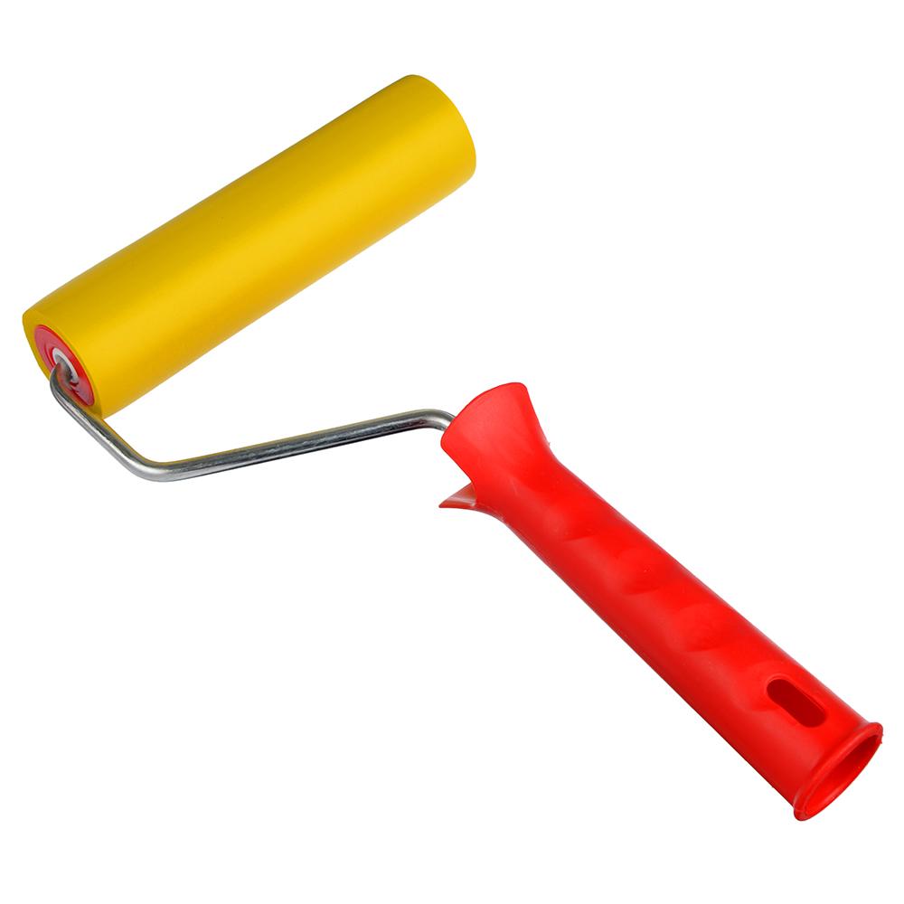 HEADMAN Валик резиновый для обоев 150мм, ручка пластик, ось 6 мм.