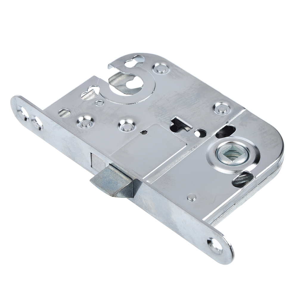 Корпус врезного замка под цилиндровый механизм, 45мм, м/о 72мм, SC/матовый хром