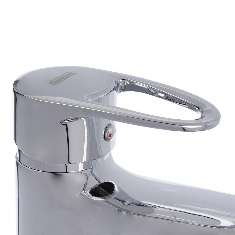 Смеситель для раковины, без подводки, картридж 40 мм, шпилька, цинк, СоюзКран SK1051