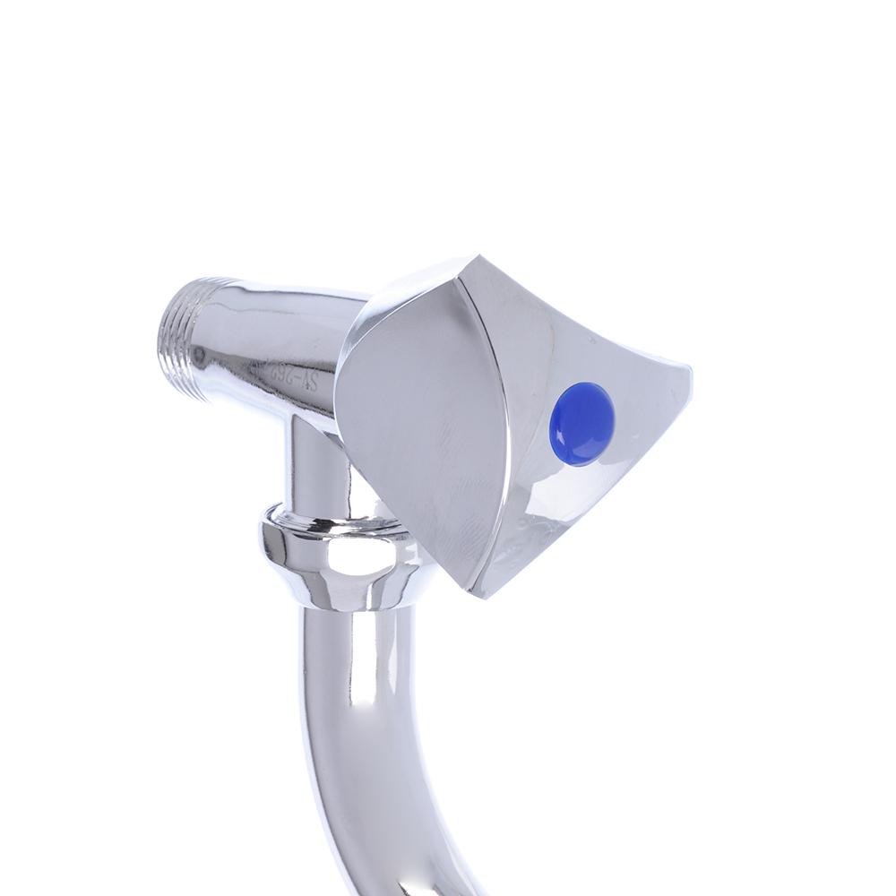 Кран для холодной воды настенный, резиновая кран-букса 3/8, цинк, СоюзКран SK304