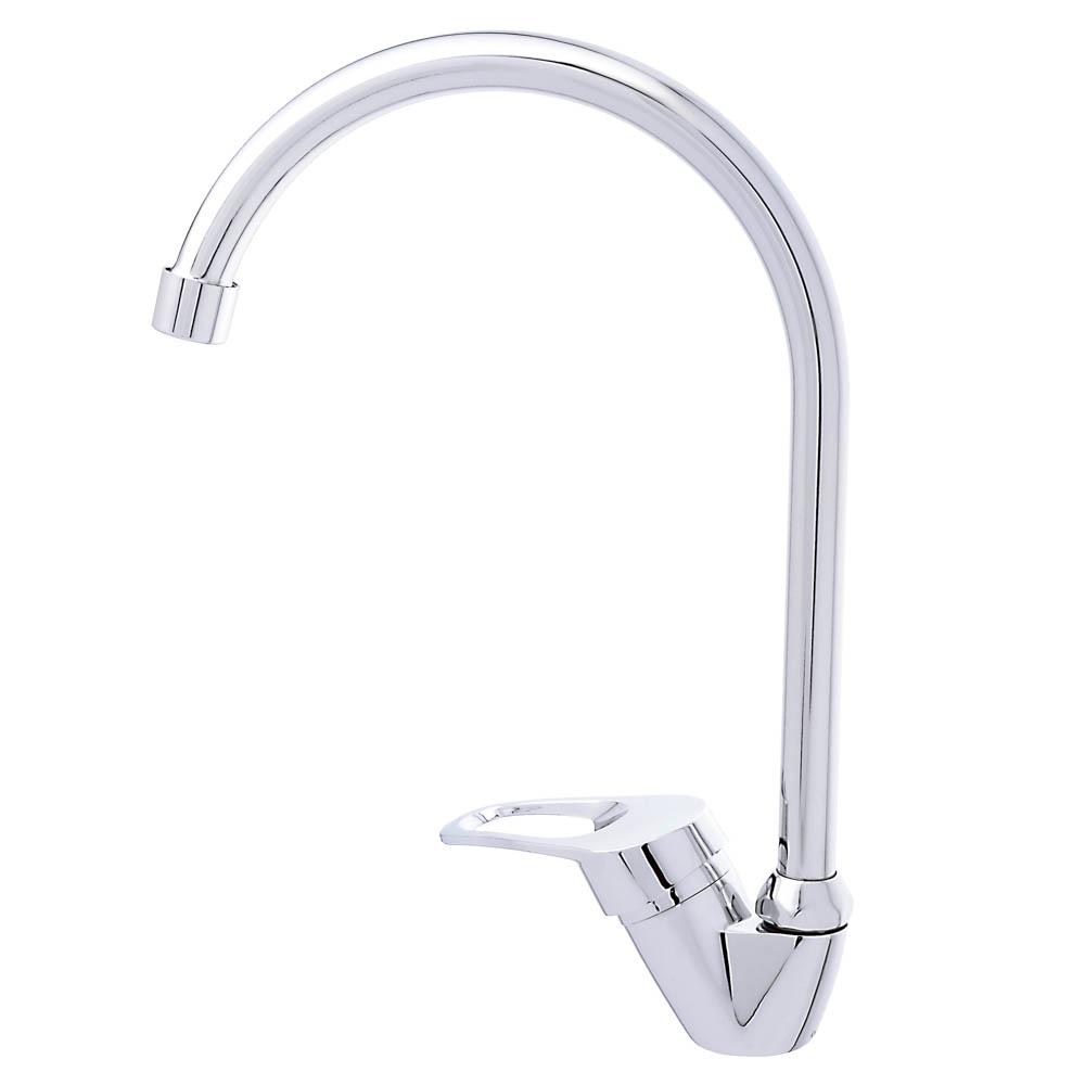 Смеситель для кухни без подводки, картридж 35 мм, шпилька, цинк, СоюзКран SK1054.2