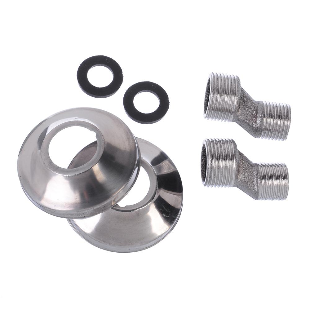 Смеситель для кухни пристенный, керамические кран-буксы 3/8, цинк, СоюзКран SK2054.2
