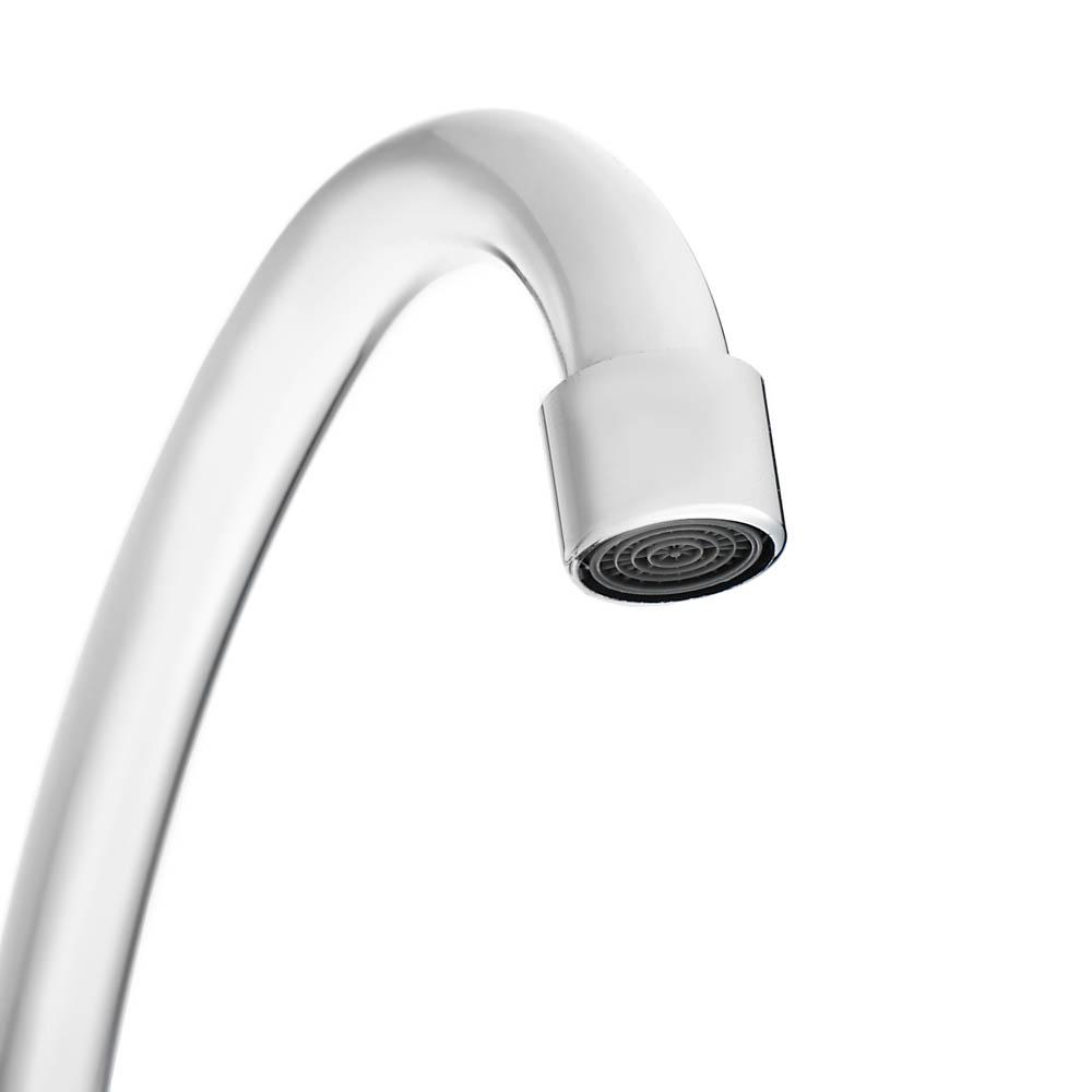 Смеситель для кухни без подводки, керамические кран-буксы 1/2, цинк, СоюзКран SK2124