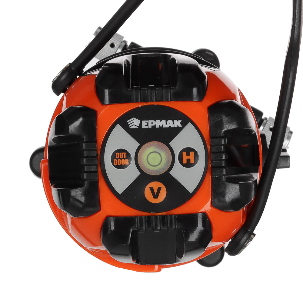ЕРМАК Уровень лазерный 3 луча, 15м, кейс