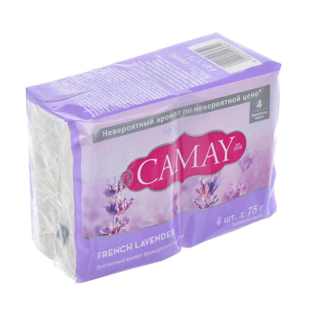 Мыло твердое CAMAY аромат французской лаванды п/у 4x75 г 67048258