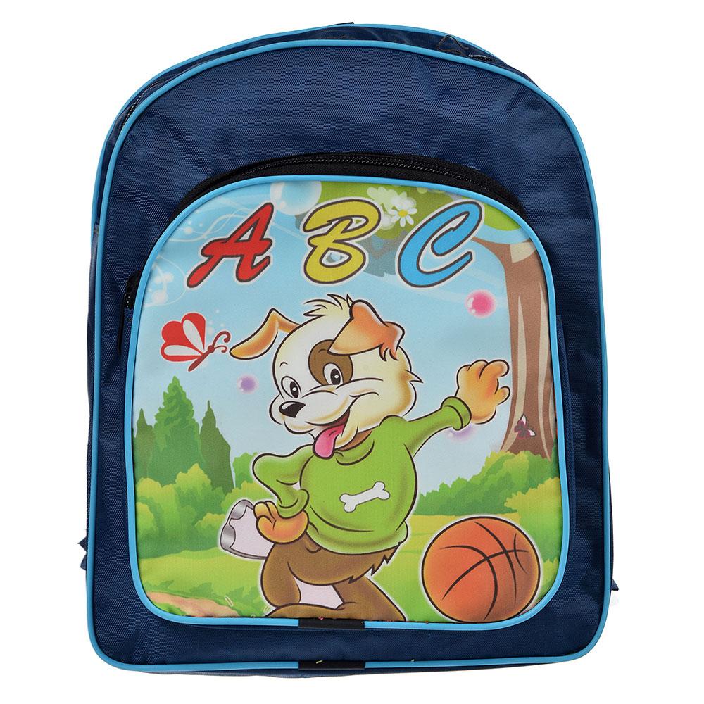 Рюкзак детский 26x22х9см, 1отд. на молнии, 1 карман, полиэстер, 2 цвета