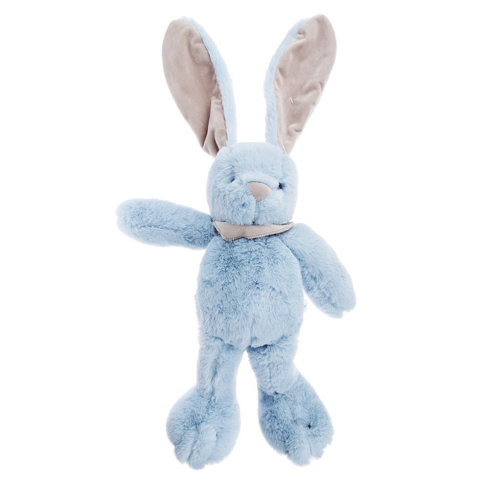 МЕШОК ПОДАРКОВ Игрушка мягкая в виде Зайца, полиэстер, 35см, 3-6 цветов