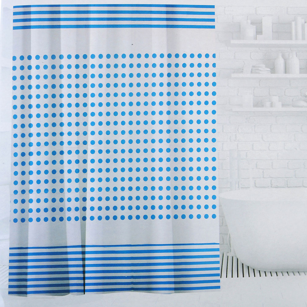SonWelle Шторка для ванной, ПЕВА, 180х180см, 3 дизайна, ФАНТАЗИЯ