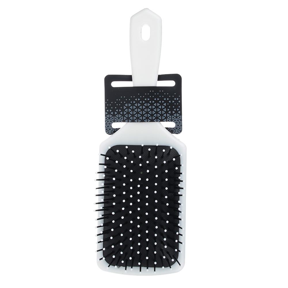 Расческа массажная, пластик, 23,5х7,5 см, 4 дизайна