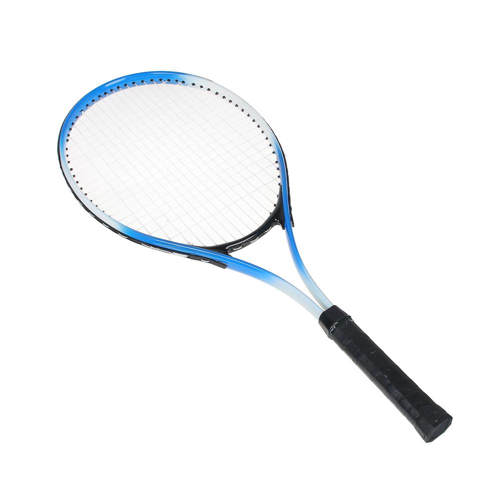 Ракетка для большого тенниса, в чехле, алюминий, SILAPRO