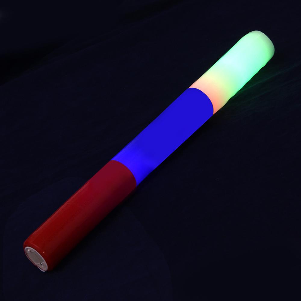 Палочка световая 39см, 3 режима свечения, элемент питания LR44, Флаг России