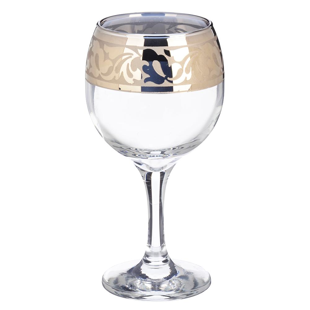 Набор фужеров 6шт для вина 250мл, в под/уп, 1711-ГНМ, Жасмин