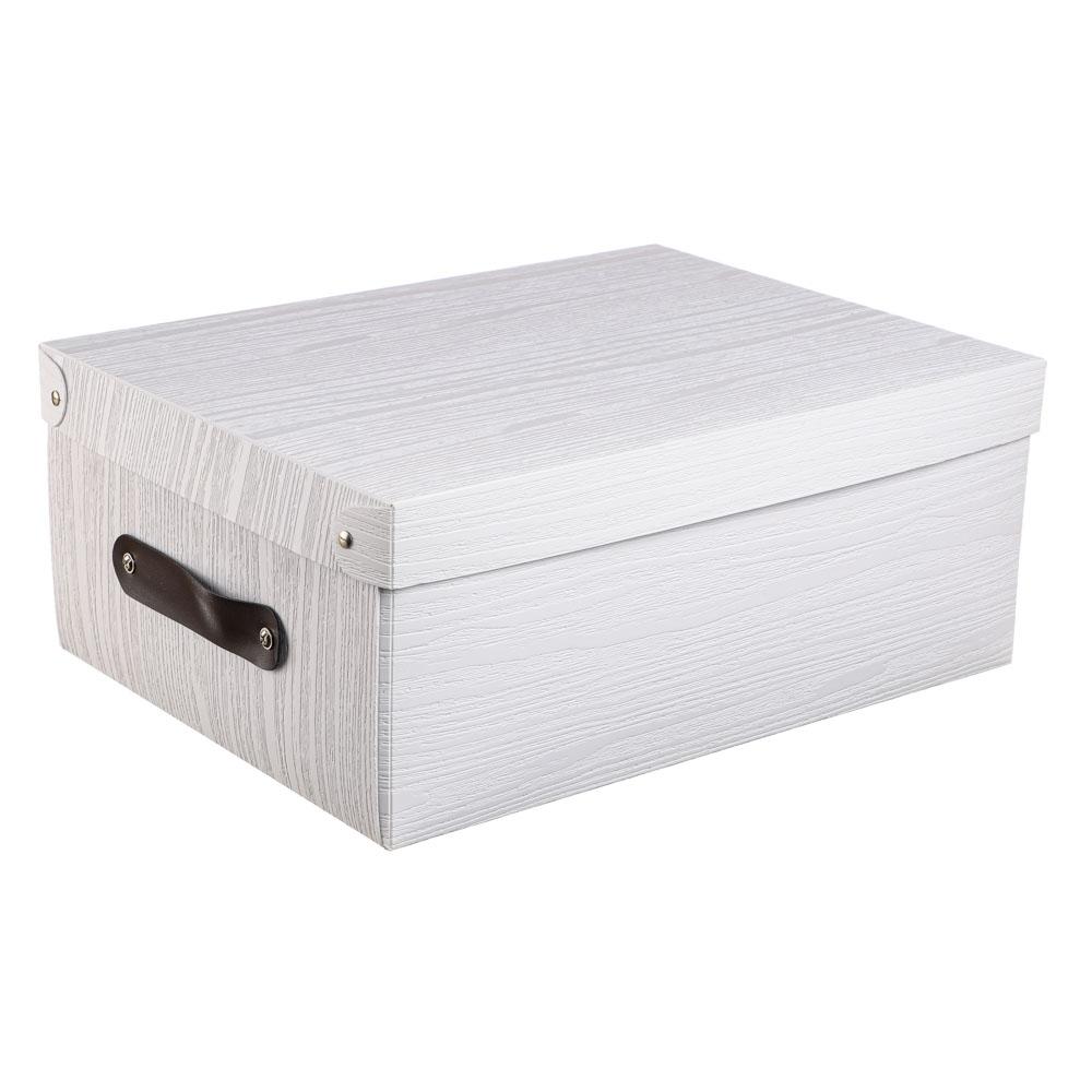VETTA Короб для хранения складной с ручкой, 32х24х13см, пластик, 2 дизайна