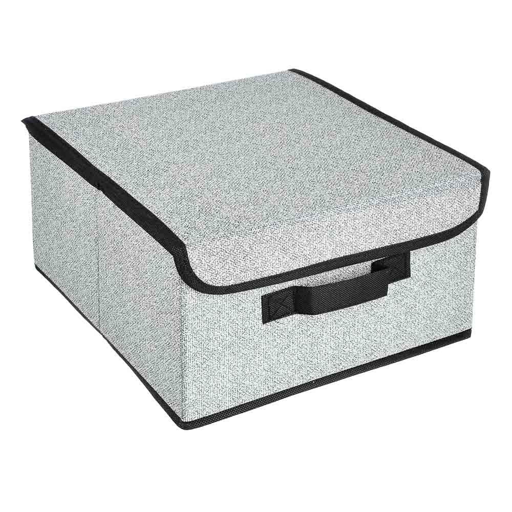 VETTA Кофр для хранения с крышкой, 28х30х16см, искусственный лен