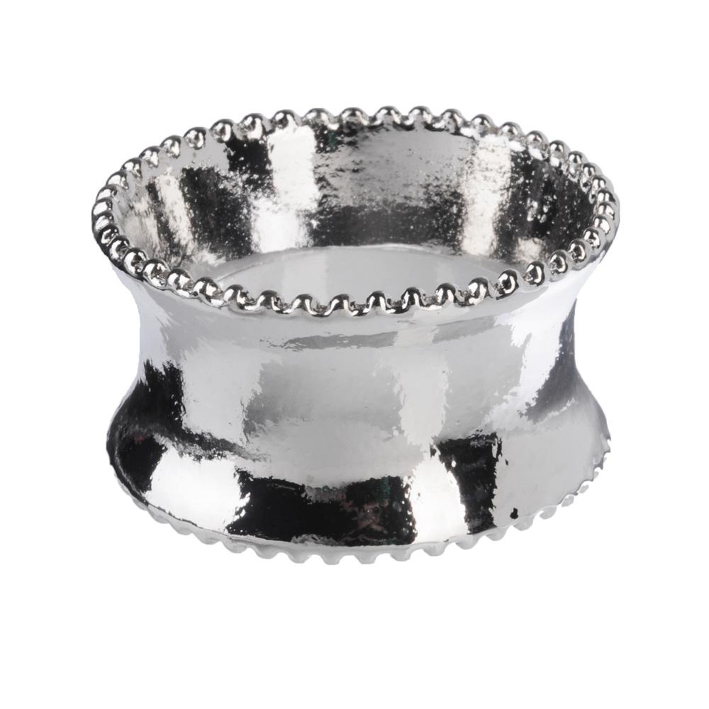 Кольцо для салфеток, d4см, серебро