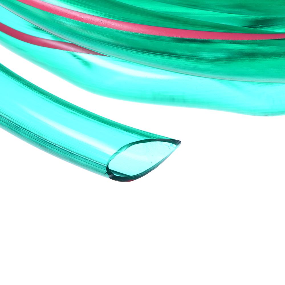 """Шланг поливочный 3/4"""", 15м, ПВХ, прозрачный, до 4-х атм, (-10 до +40)С"""