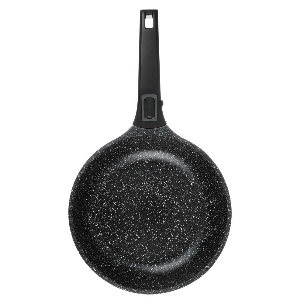Сковорода литая  d. 24 см СЛАВЯНА Уран, антипригарное покрытие, индукция