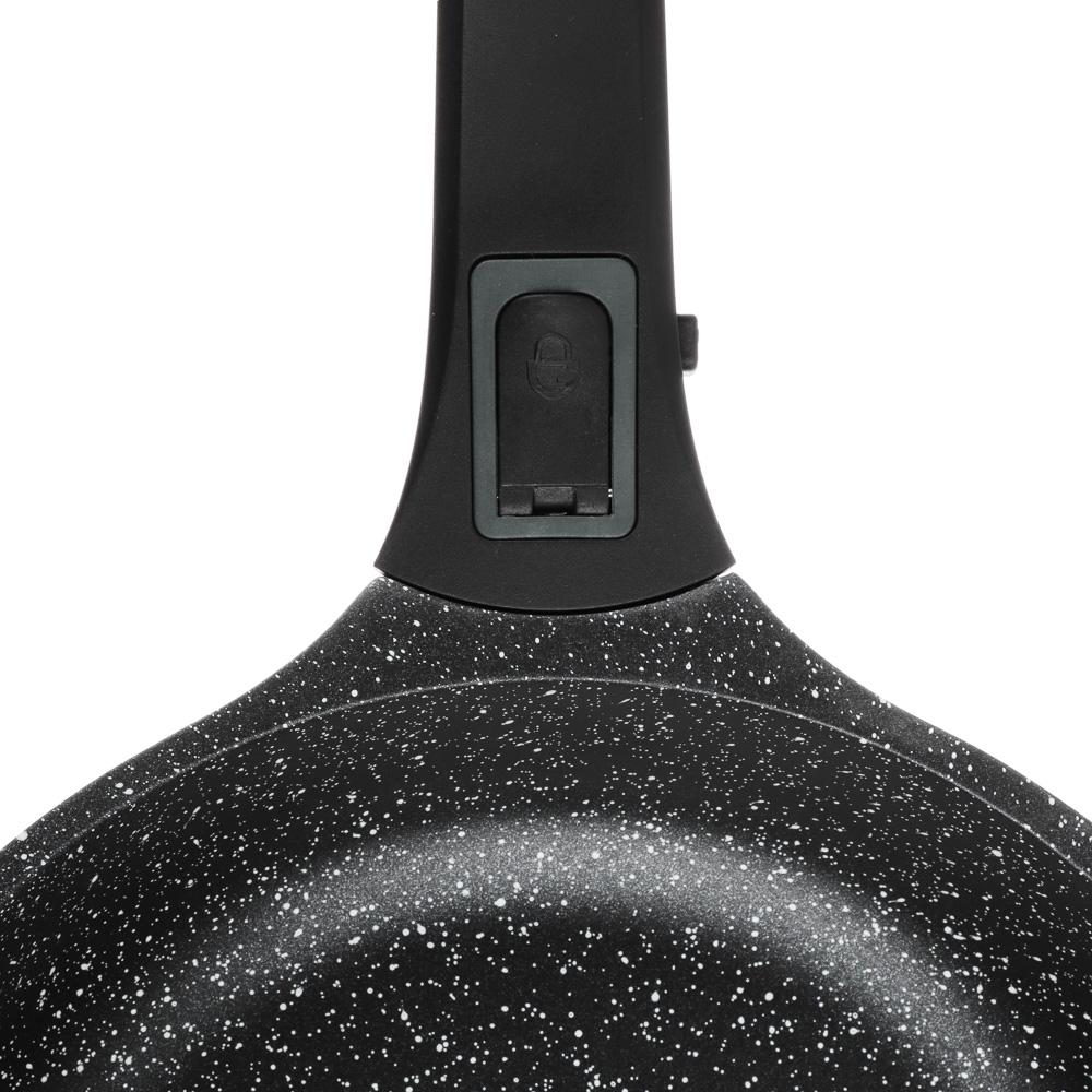 Сковорода литая  d.24 см СЛАВЯНА Уран, антипригарное покрытие, индукция