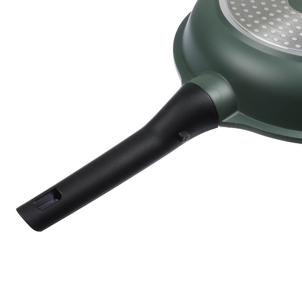 """Сковорода литая, антипригарное покрытие, индукция, d26 см, СЛАВЯНА """"Уран"""""""