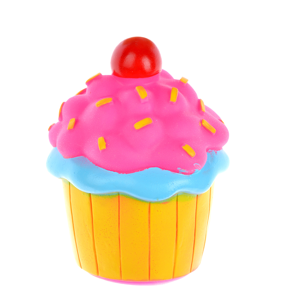 "Игрушка-пищалка ""Десерт"", резина, 9-15см, 3 дизайна"