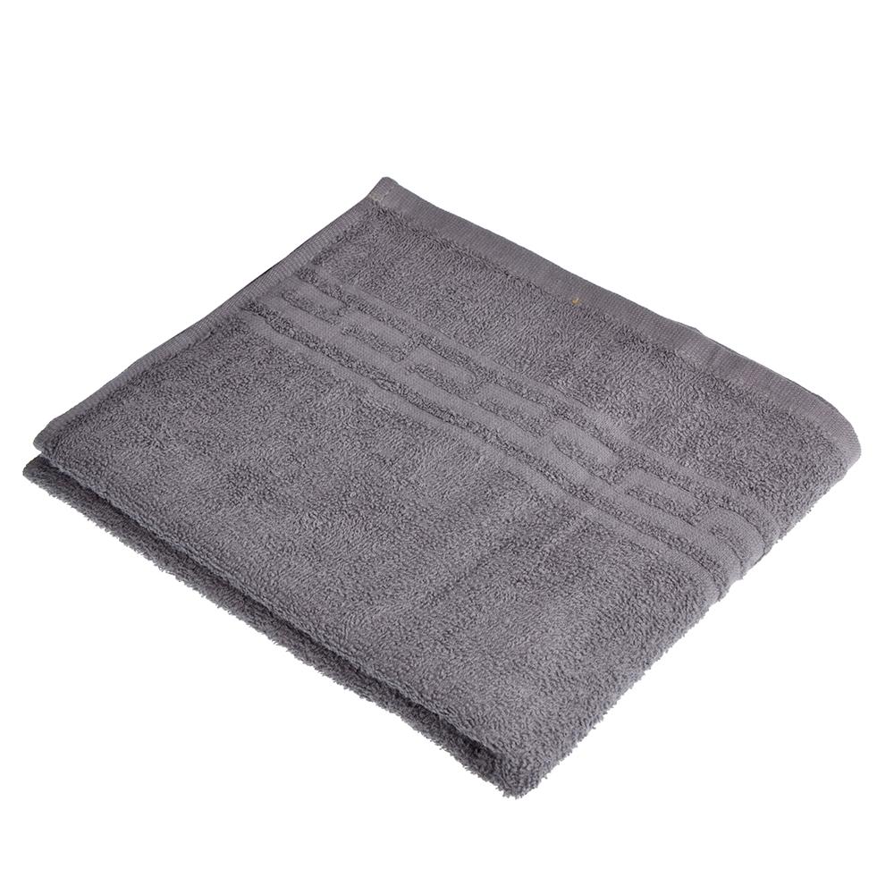 """Полотенце для лица махровое, хлопок, 50х80см, серое, """"Лайт"""""""