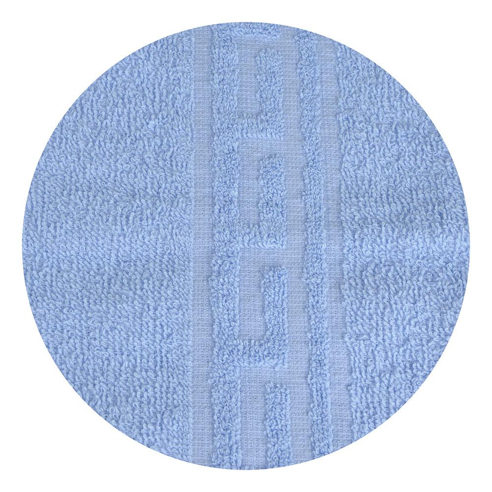 "Полотенце махровое, 100% хлопок, 50х80см, ""Лайт"", св. голубой, 6127334"