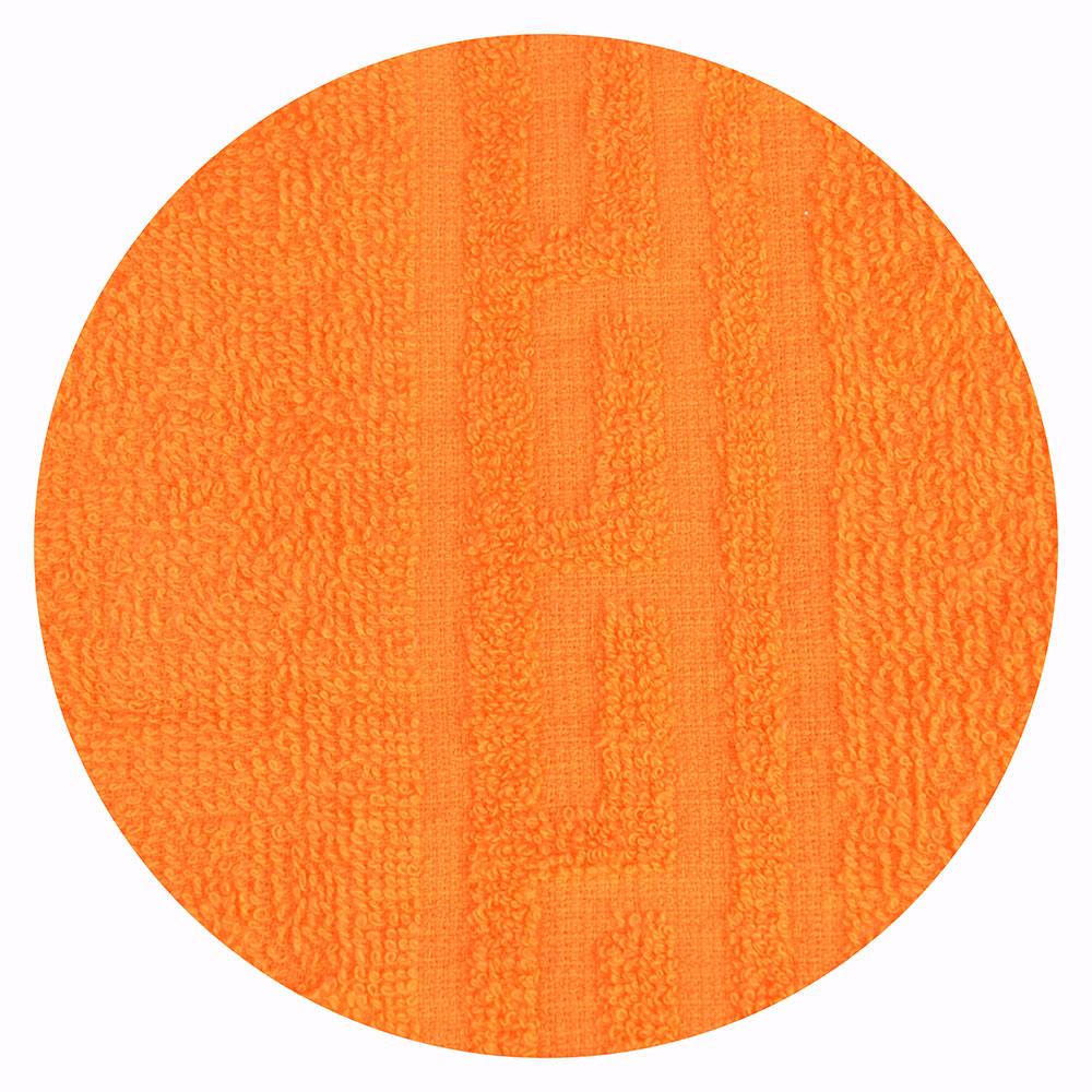 """Полотенце для лица махровое, хлопок, 50х80см, оранжевое, """"Лайт"""""""