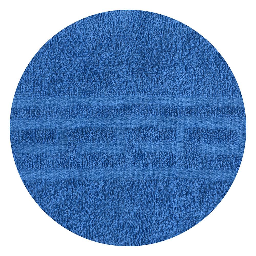 """Полотенце для лица махровое, хлопок, 50х80см, голубое, """"Лайт"""""""