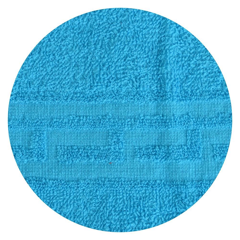 """Полотенце для лица махровое, хлопок, 50х80см, синие, """"Лайт"""""""