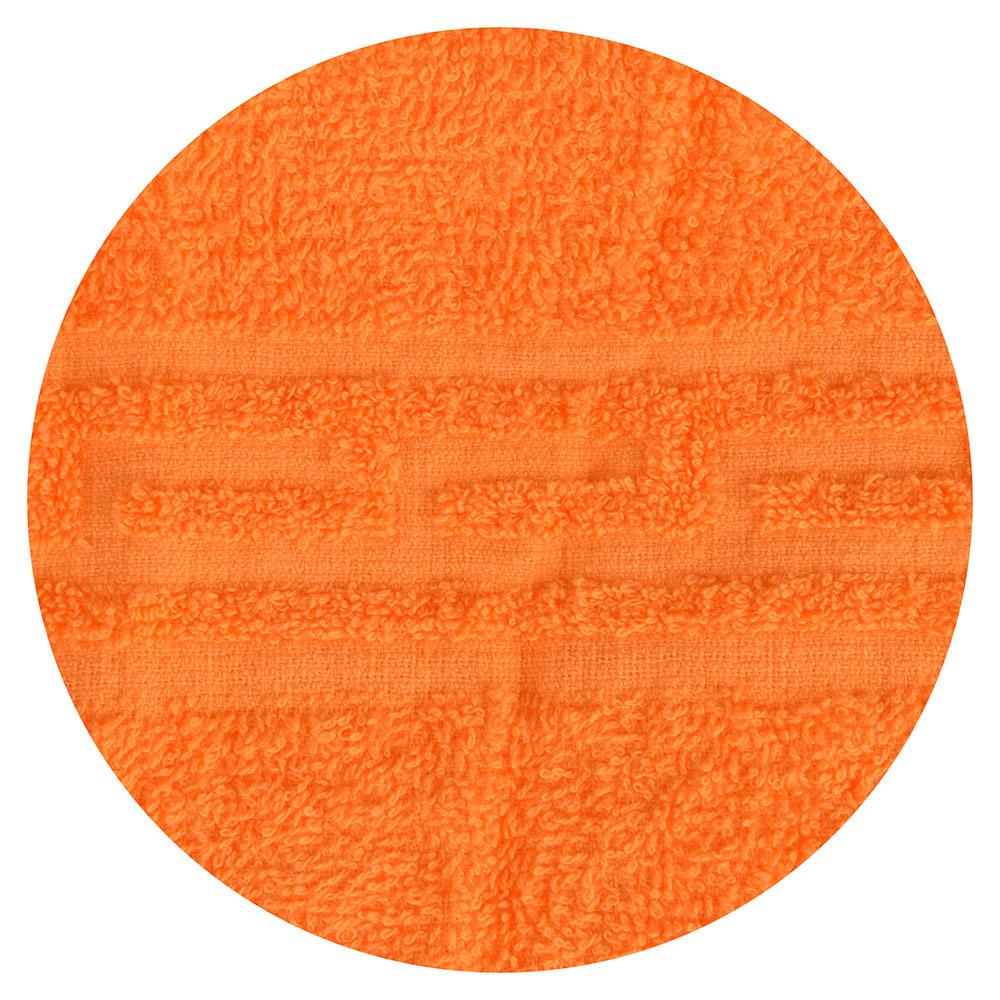 """Полотенце банное махровое, хлопок, 60х130см, оранжевое, """"Лайт"""""""
