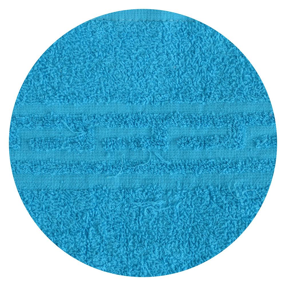 """Полотенце банное махровое, хлопок, 60х130см, голубое, """"Лайт"""""""