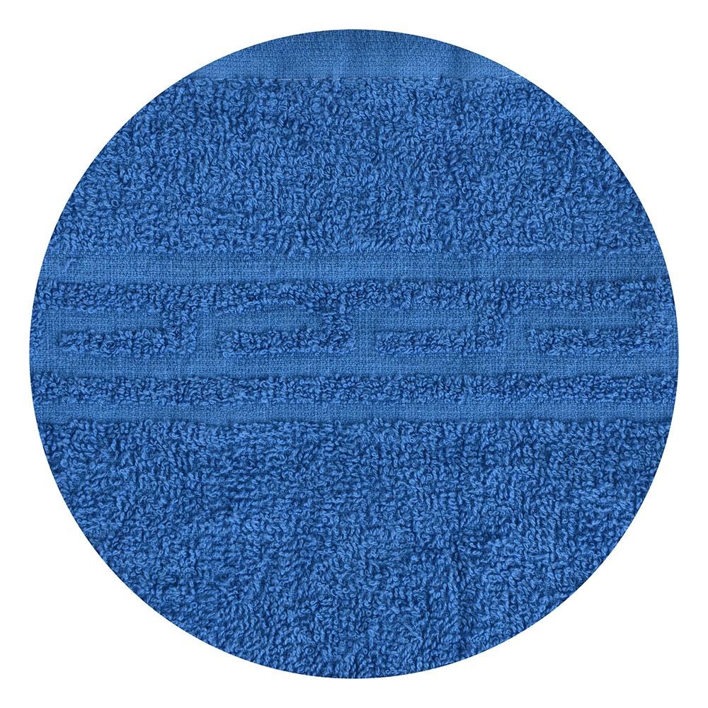 """Полотенце банное махровое, хлопок, 60х130см, синее, """"Лайт"""""""