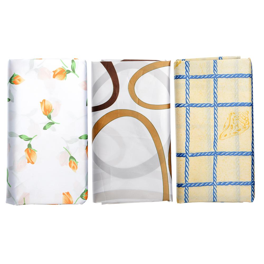 "VETTA Шторка для ванной, полиэстер, 170х180см, ""Натали"", 3 дизайна"