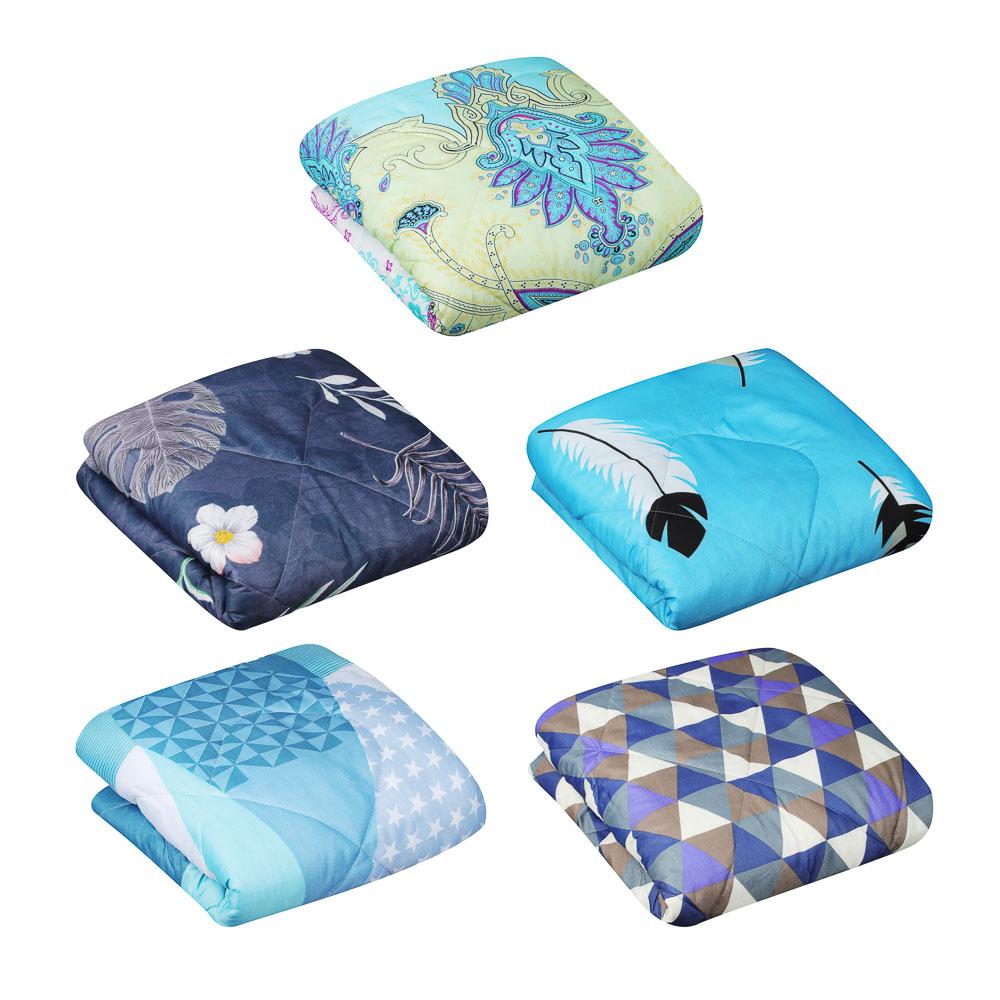 """Одеяло 140х205 см """"Стандарт"""" стеганое, облегченное, 150 гр/м, полиэстер"""