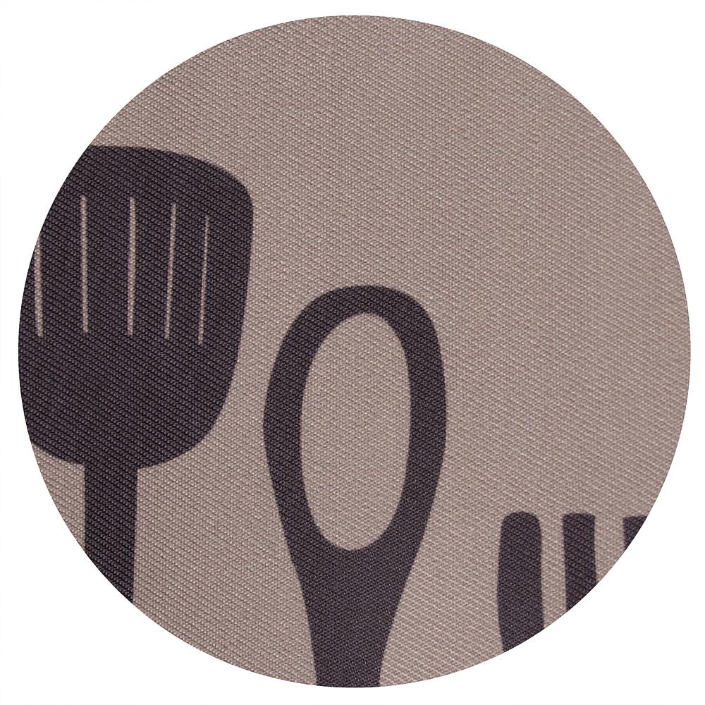 """Фартук """"Стильная кухня"""", 70% хлопок, 30% полиэстер, 60х70см, 2 дизайна"""