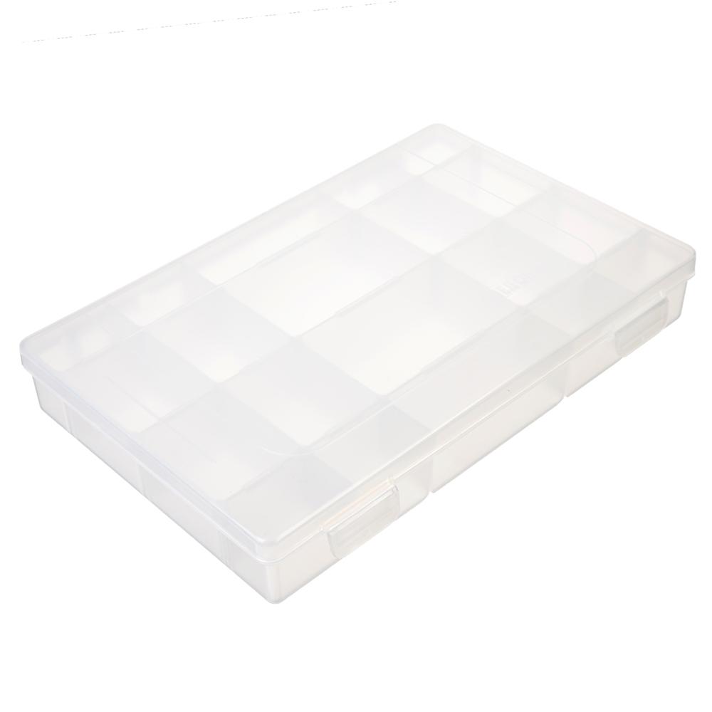 СЛЕДОПЫТ коробка LUNO-20 для рыболовных приманок, 277х185х42,5 мм